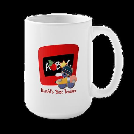 Teacher TeddyBear Large Mug