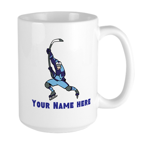 Personalized Hockey Large Mug