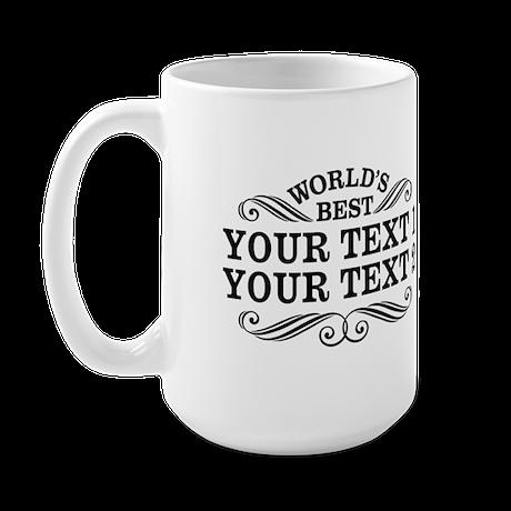 Universal Gift Personalized Large Mug