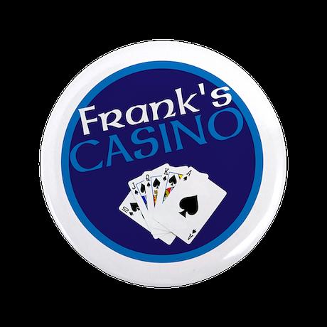 """Personalized Casino 3.5"""" Button"""