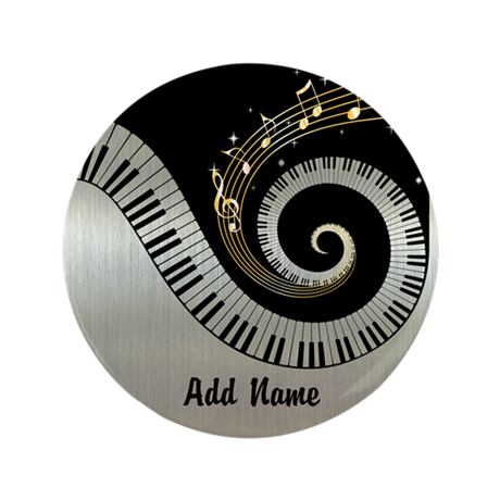 "personalized mixed musical no 3.5"" Button"
