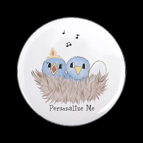 """Baby Bird 3.5"""" Button (100 pack)"""