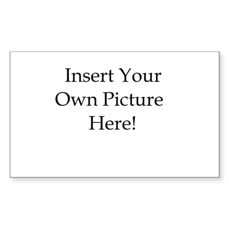 Upload your own picture Sticker (Rectangle 10 pk)