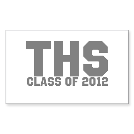 2012 Graduation Sticker (Rectangle 10 pk)
