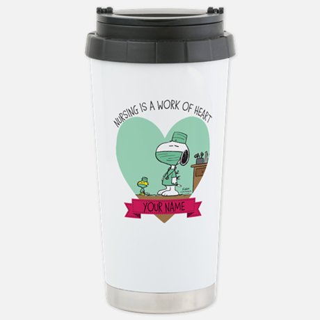 Personalized Peanuts Nursing Travel Mug