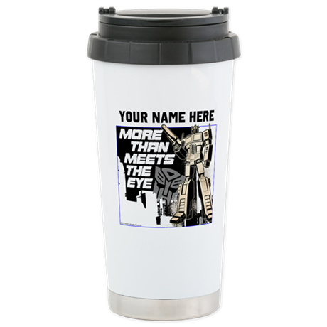 Personalized More Than Meets the Eye Travel Mug