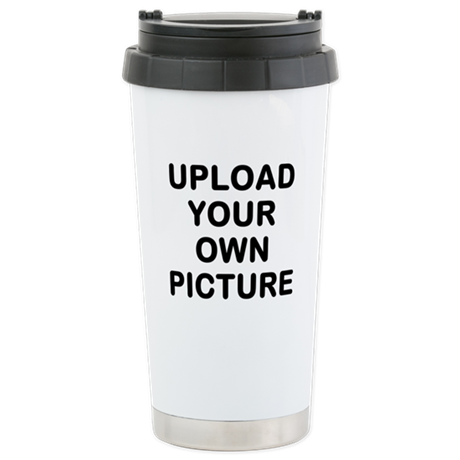 Design your own stainless steel travel mug by Design your own mugs uk