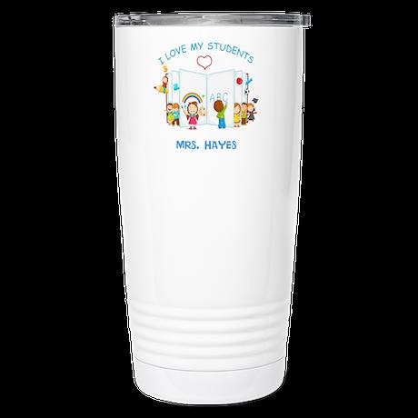Custom Teacher Stainless Steel Travel Mug