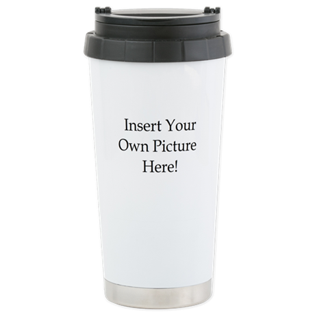 Upload your own picture Stainless Steel Travel Mug