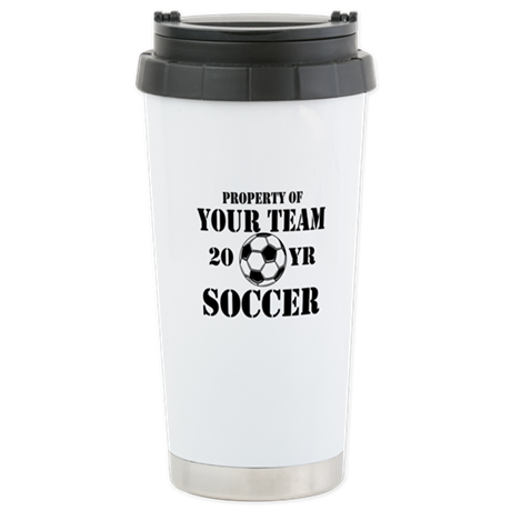Personalized Property of Your Team Soccer Travel M