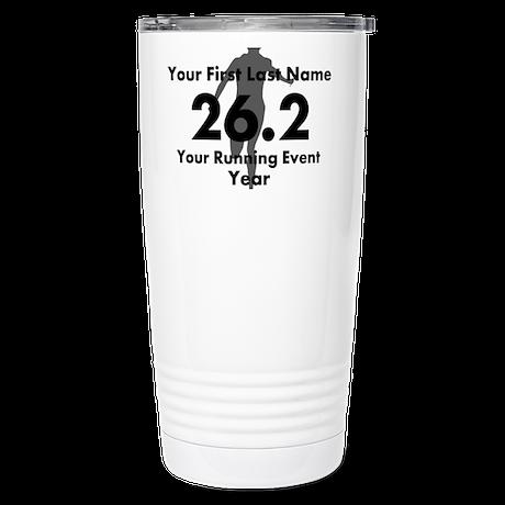 Customizable Running/Marathon Travel Mug