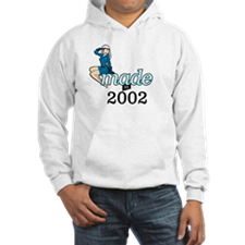 Funny Made in 2002 Hoodie