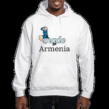 Funny Made in armenia Hoodie