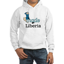 Funny Made in liberia Hoodie