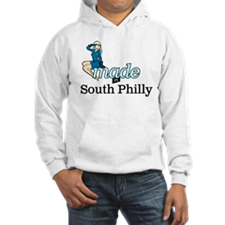 Funny Made in south philly Hoodie