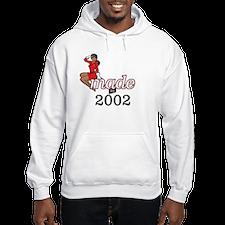 Made in 2002 Hoodie