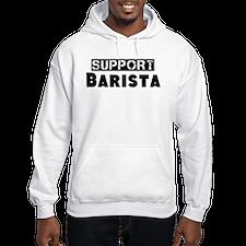 Cute Support barista Hoodie