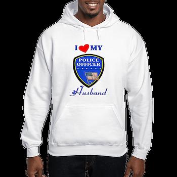 Police Husband Hooded Sweatshirt