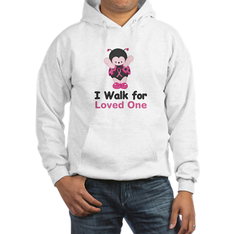 Walk For Ladybug Hooded Sweatshirt