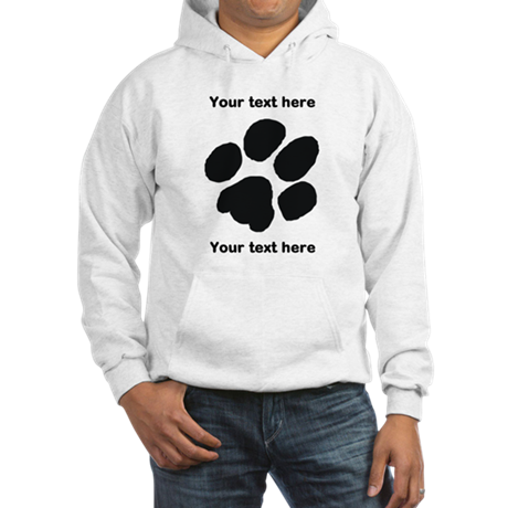 Pawprint - Customisable Hooded Sweatshirt