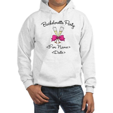 Bachelorette Party (Type In Name & Date) Hooded Sw