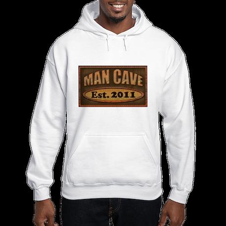 Man Cave Hooded Sweatshirt