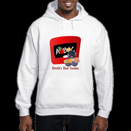 Teacher TeddyBear Hooded Sweatshirt
