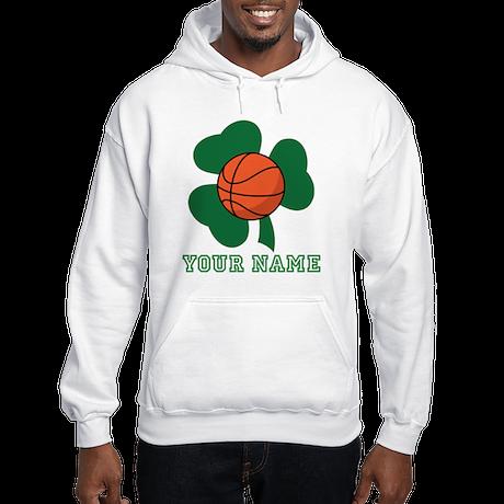 Personalized Irish Basketball Gift Hooded Sweatshi
