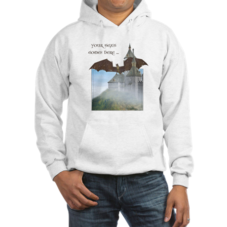 Dragon Castle Hooded Sweatshirt