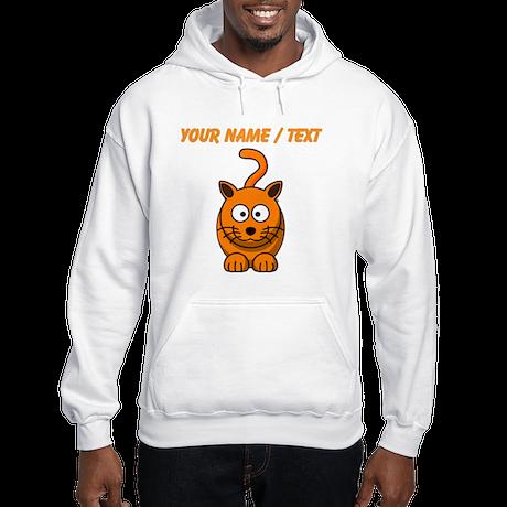 Custom Cartoon Cat Jumper Hoody