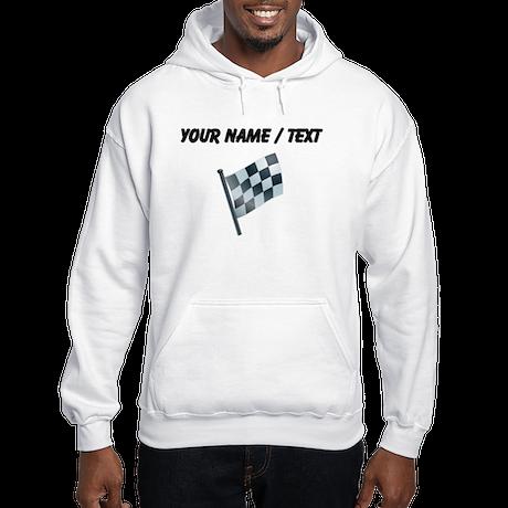 Custom Checkered Flag Hoodie