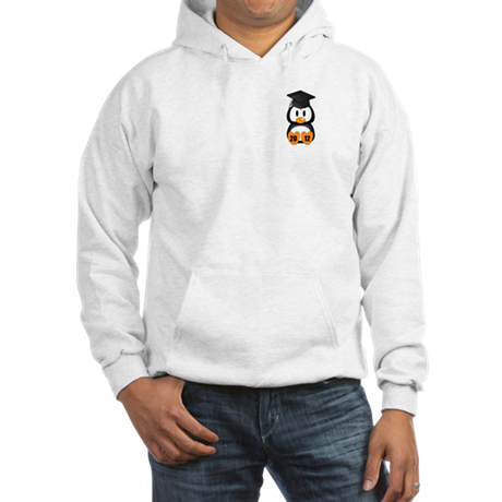 Custom Gradution Penguin Hooded Sweatshirt