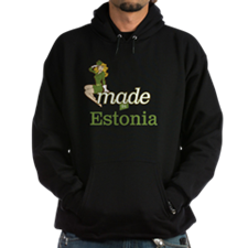 Unique Made in estonia Hoodie (dark)