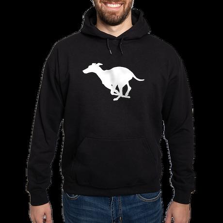 Grey Hound Hoodie (dark)