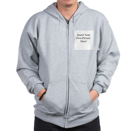 Upload your own picture Zip Hoodie