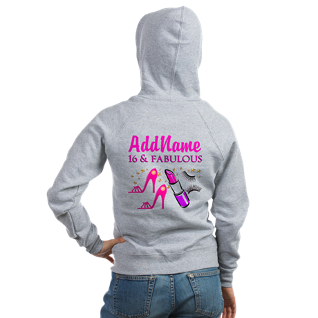 SWEET 16TH Women's Zip Hoodie