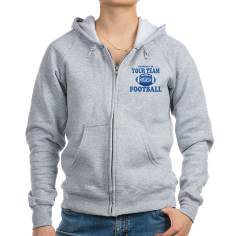 Property of Fantasy Your Team Blue Women's Zip Hoo