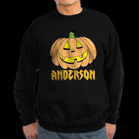 Personalized Halloween Sweatshirt (dark)