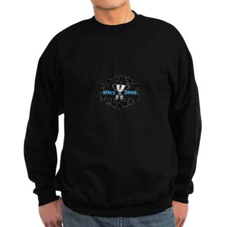 Trophy Husband Year & Name Sweatshirt (dark)