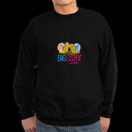 Add Name Big Sister Sweatshirt