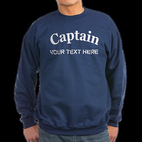 CUSTOMIZABLE CAPTAIN Sweatshirt (dark)