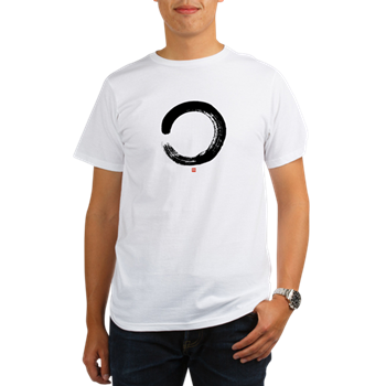 Zen Enso Circle Organic Men's T-Shirt