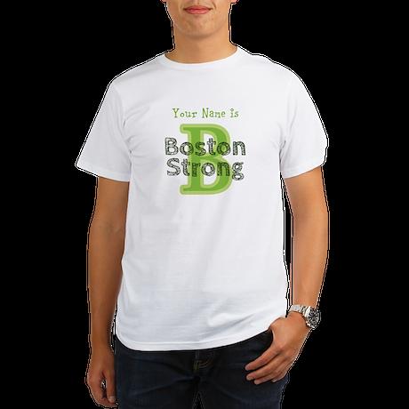B Boston Strong Green - Per... T-Shirt
