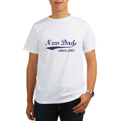 Custom New Dad T-Shirt