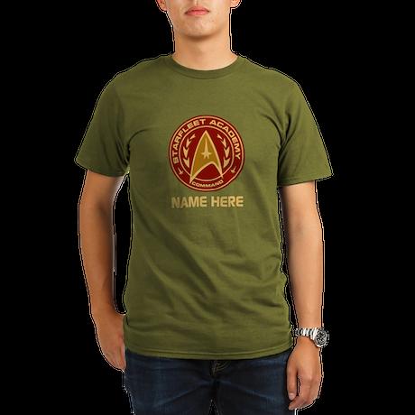 Starfleet Academy Per Organic Men's T-Shirt (dark)