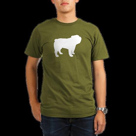 Bulldog Organic Men's T-Shirt (dark)