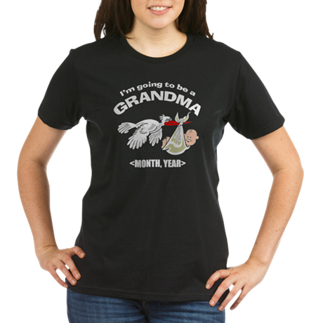 Funny Grandma To Be Personalized Organic Women's T