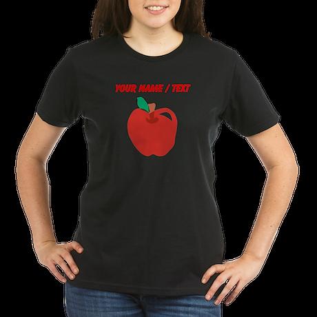 Custom Apple Cartoon T-Shirt