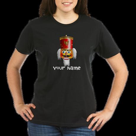 Personalized Nutcracker Head Organic Women's T-Shi