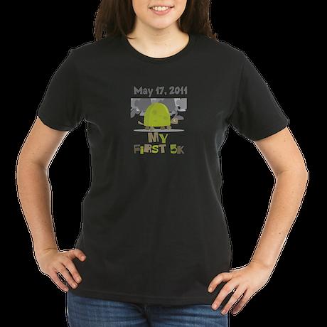 Personalized My First 5K Organic Women's T-Shirt (